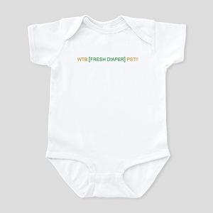 [FRESH DIAPER] Infant Bodysuit